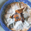 German Spiced Apple Galette